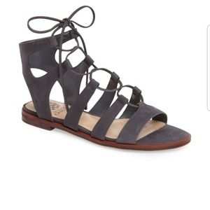 Gladiator sandals lace up